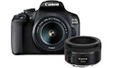 Canon Eos 2000D 18-55 + 50mm kit