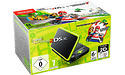 Nintendo New 2DS XL Black/Lime Green + Mario Kart 7