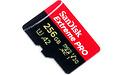 Sandisk Extreme Pro MicroSDXC UHS-I U3 V30 256GB + Adapter