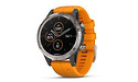 Garmin Fēnix 5 Plus Sapphire White/Orange