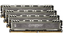 Crucial Ballistix Sport LT Grey 64GB DDR4-3000 CL16 quad kit (BLS4K16G4D30BESB)