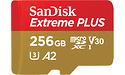 Sandisk Extreme Plus MicroSDXC UHS-I U3 V30 256GB + Adapter