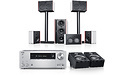 Teufel System 4 THX AVR for Dolby Atmos 5.1.2-Set White/Silver
