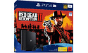 Sony PlayStation 4 Pro 1TB Black + Red Dead Redemption 2