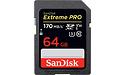 Sandisk Extreme Pro SDXC UHS-I U3 64GB (170MB/s)
