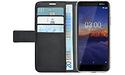 Azuri Wallet Magnet Nokia 3.1 Book Case Black
