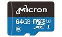 Micron Industrial MicroSDXC UHS-I 64GB