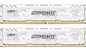 Crucial Ballistix Sport LT 32GB DDR4-3000 CL15 kit White
