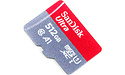 Sandisk Ultra MicroSDXC UHS-I 512GB + Adapter