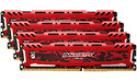 Crucial Ballistix Sport LT Red 32GB DDR4-3000 CL15 quad kit