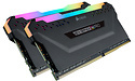 Corsair Vengeance RGB Pro Black 128GB DDR4-3600 CL18 octo kit