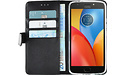 Azuri Wallet Magnet Motorola Moto E4 Plus Book Case Black