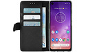 Azuri Wallet Motorola One Vision Book Case Black