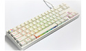 Ducky Miya Pro Rainbow RGB MX-Brown White (US)