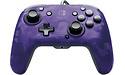 PDP Faceoff Deluxe+ Audio Wired Controller Purple Camo Nintendo Switch