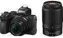 Nikon Z50 16-50 + 50-250mm kit Black