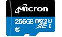 Micron Industrial MicroSDXC UHS-I 256GB Black/Blue