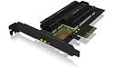 RaidSonic Icy Box IB-PCI215M2-HSL