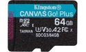 Kingston Canvas Go! Plus MicroSDXC UHS-I U3 64GB