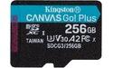Kingston Canvas Go! Plus MicroSDXC UHS-I U3 256GB