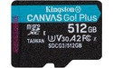 Kingston Canvas Go! Plus MicroSDXC UHS-I U3 512GB
