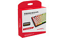 Kingston HyperX Pudding Keycaps Full Key Set White PBT