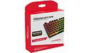 Kingston HyperX Pudding Keycaps Full Key Set Black PBT