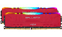 Crucial Ballistix RGB Red 16GB DDR4-3200 CL16 kit