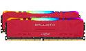Crucial Ballistix RGB Red 64GB DDR4-3200 CL16 kit
