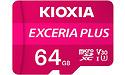 Kioxia Exceria Plus MicroSDXC UHS-I U3 64GB