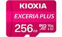 Kioxia Exceria Plus Pink MicroSDXC UHS-I U3 256GB