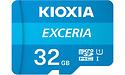 Kioxia Exceria MicroSDHC UHS-I 32GB