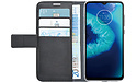 Azuri Wallet Motorola Moto G8 Power Lite Book Case Black