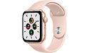 Apple Watch SE 44mm Gold Sport Band Pink