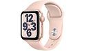 Apple Watch SE 40mm Gold Sport Band Pink