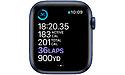 Apple Watch 6 Series 44mm Blue Sport Band Dark Marine Blue