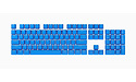 Corsair PBT Double-shot Pro Keycaps Elgato Blue