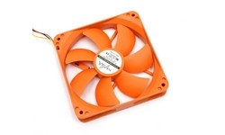 Nexus Real Silent Case Fan 120mm Orange