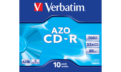 Verbatim CD-R 52x 10pk Jewel case