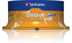 Verbatim DVD-R 16x 25pk Spindle