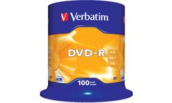 Verbatim DVD-R 16x 100pk Spindle