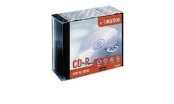 Imation CD-R 52x 10pk Slim case