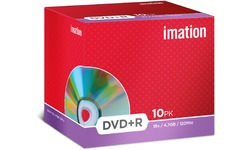 Imation DVD+R 16x 10pk Jewel case