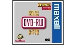 Maxell DVD+RW 4x 5pk Jewel case