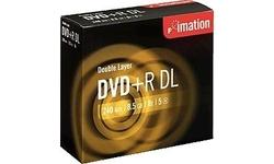 Imation DVD+R DL 8x 5pk Jewel case