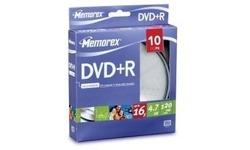 Memorex DVD+R 16x 10pk Spindle