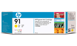 HP 91 Yellow