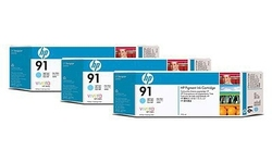 HP 91 Light Cyan 3pk
