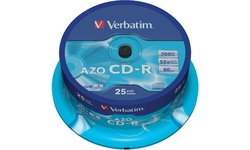 Verbatim CD-R 52x 25pk Spindle