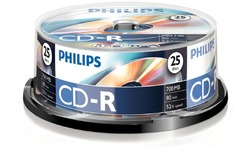 Philips CD-R 52x 25pk Spindle